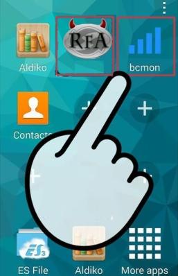 Cara bobol wifi (wpa2-psk) di android dengan Bcmon